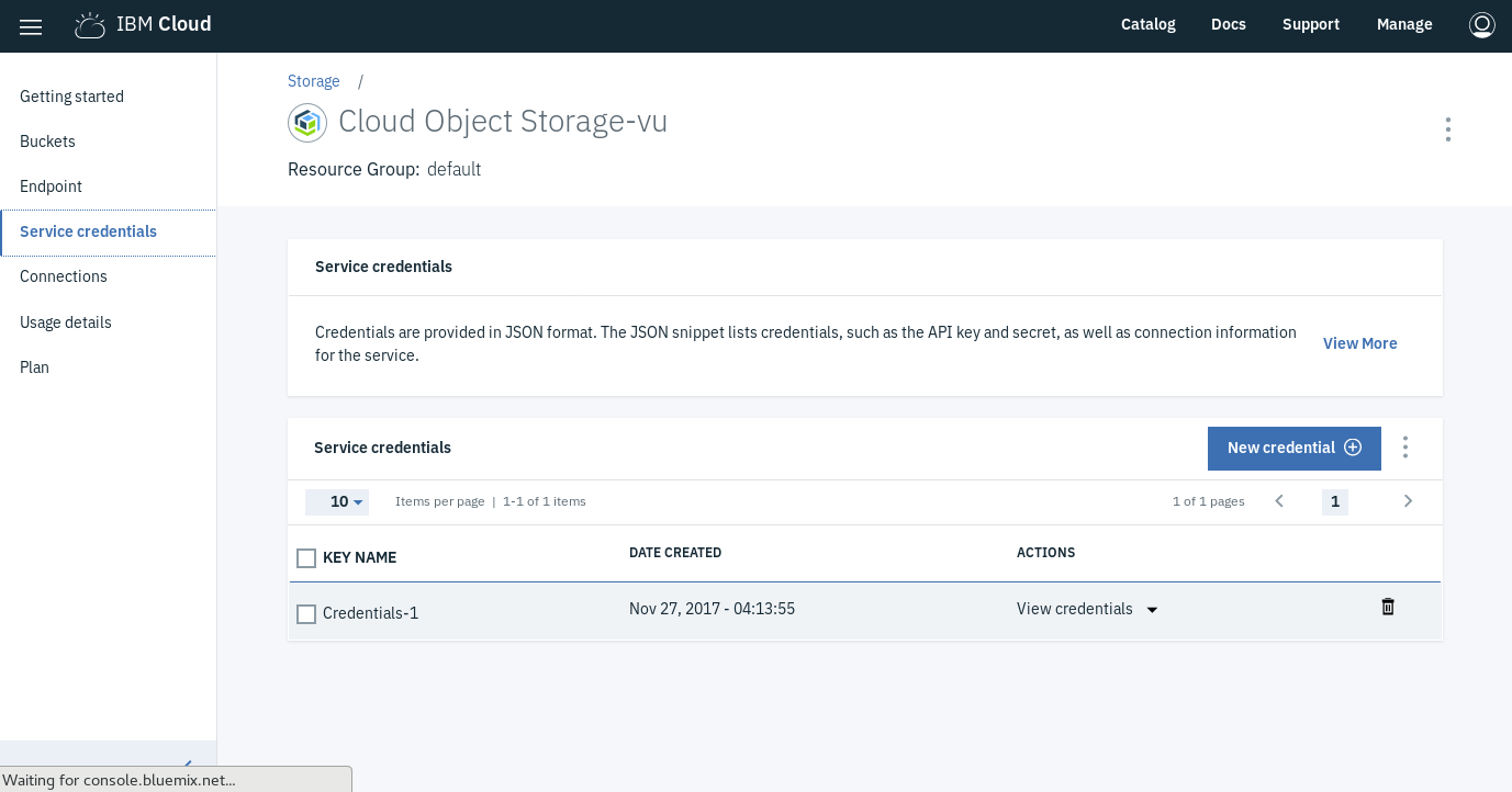 How to easily port your app to Cloud Object Storage – IBM