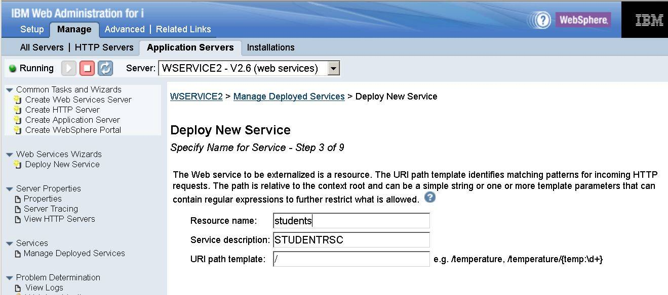 Part 3: Building a REST service with integrated web services