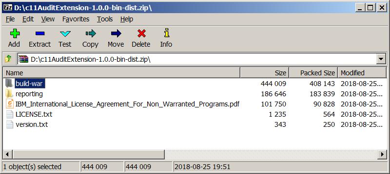IBM Cognos c11AuditExtension – IBM Developer