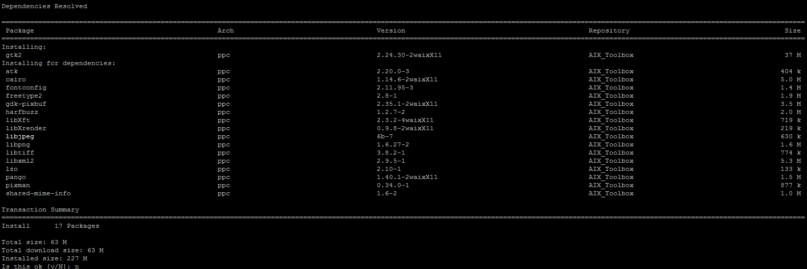Installing and configuring GTK2 on IBM AIX – IBM Developer