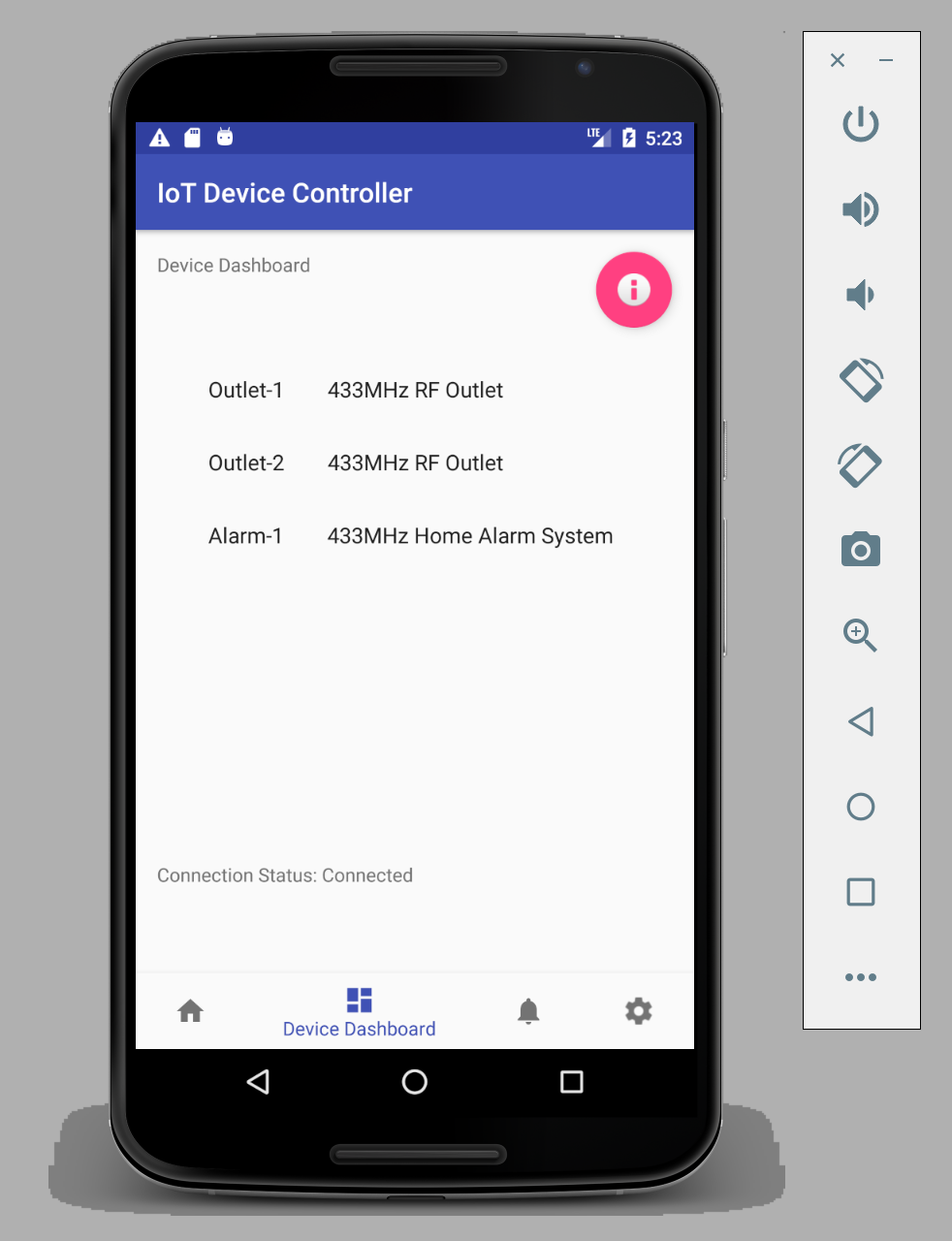 Create An Android App With Android Studio To Control Led How