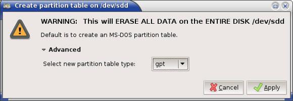 partition bad disk full mega
