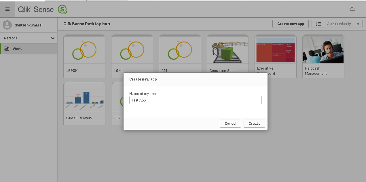 Qlik Sense integrated with Hortonworks Data Platform (HDP