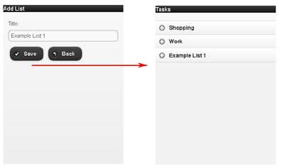Task list creation