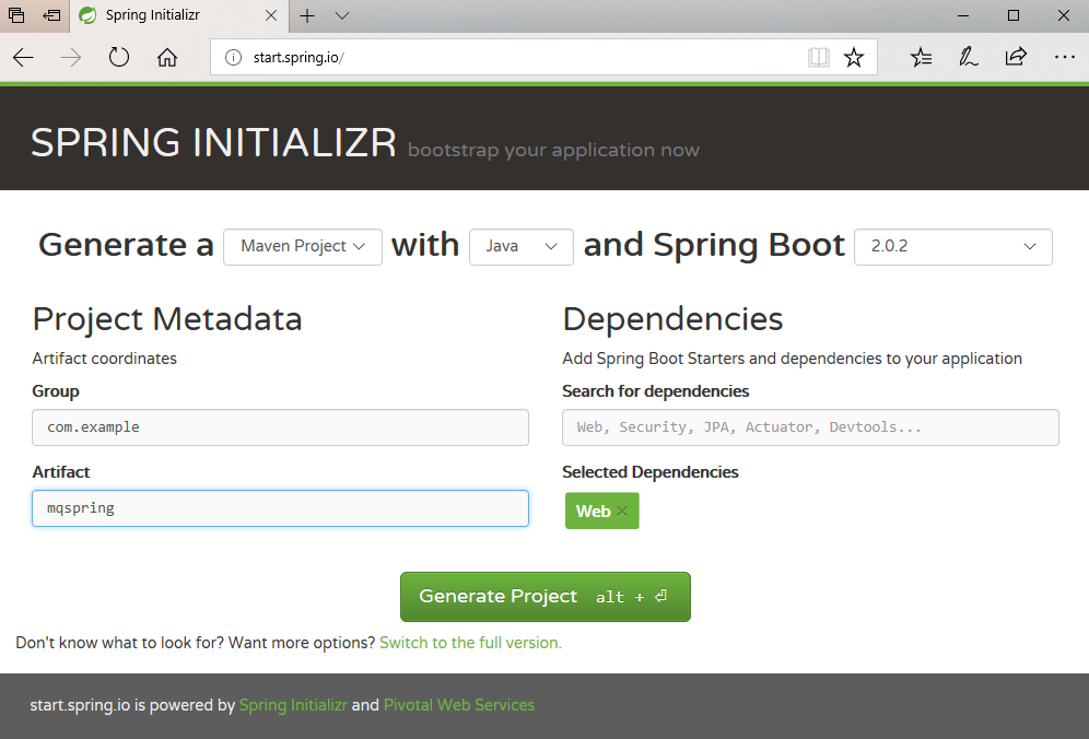 MQ JMS application development with Spring Boot – IBM Developer