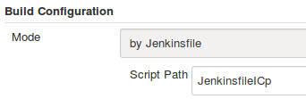 Script Path for JenkinsfileICp