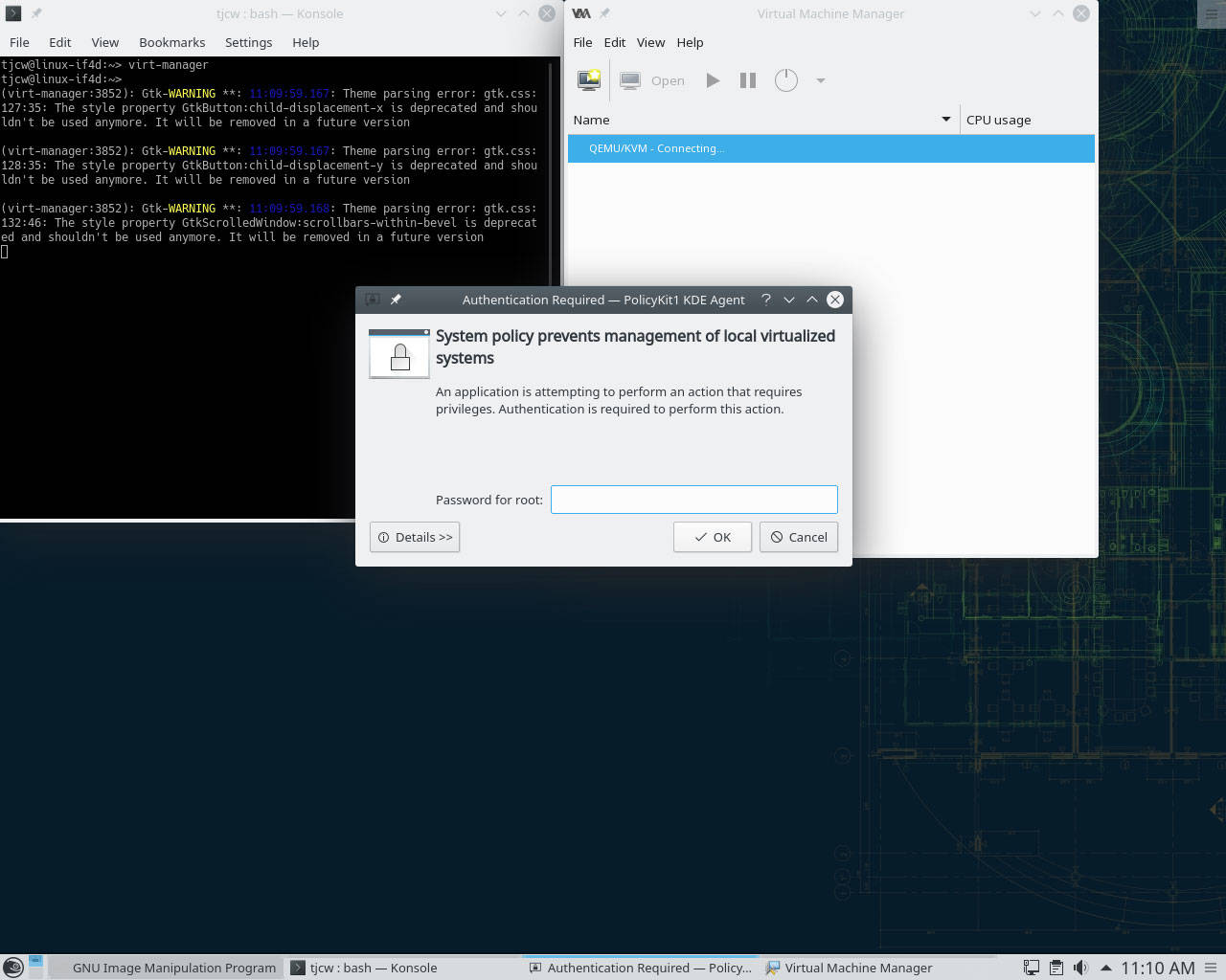 Qemu command line tutorial