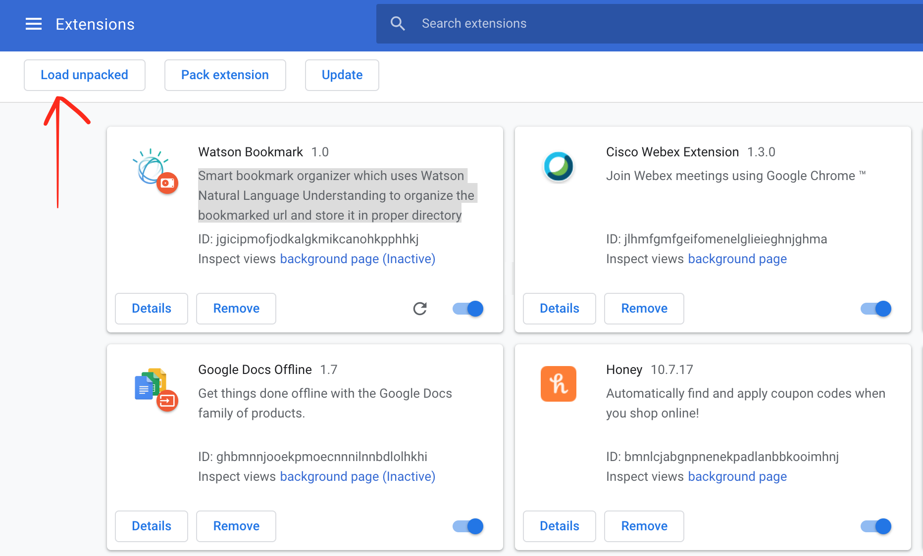 Create an artificial intelligence bookmark organizer for the Chrome