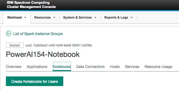 PowerAI 154-Notebook window