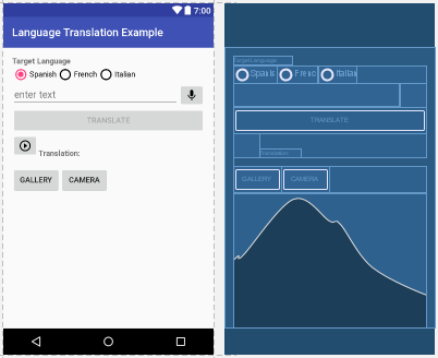 Build an application with the Watson Android SDK in Android