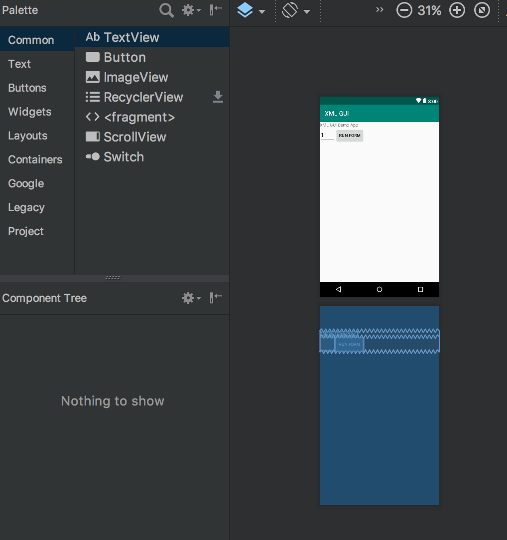 Build dynamic user interfaces with Android and XML – IBM